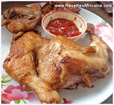 Poulet frit africaine - Crédit photo: http://www.recettesafricaine.com