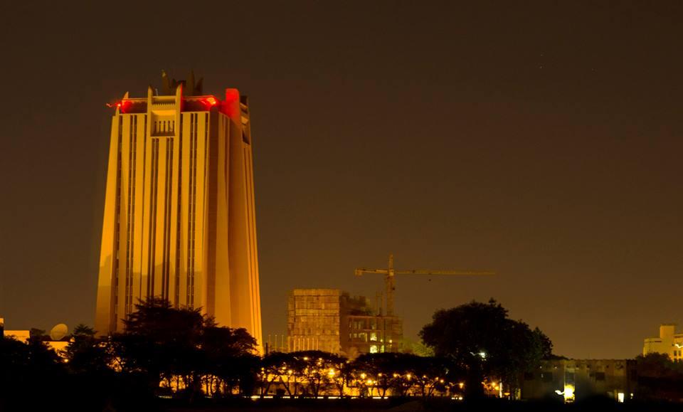 Bamako vue de nuit - Photo: Oman Seth Ahouansou