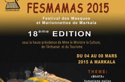 Article : Le FESMAMAS 2015, un festival de créativité, militant et à haute valeur éducative