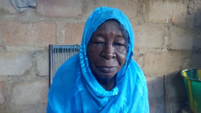 Grande mère - Ba Kanin TRAORE, septuagénaire résidant à Bamako