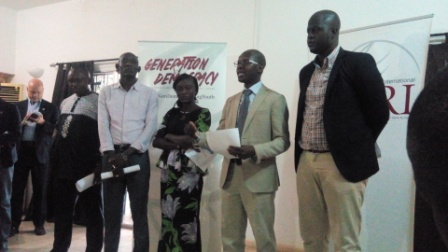 Cérémonie de restitution de la Déclaration de Dakar GenDem à Bamako